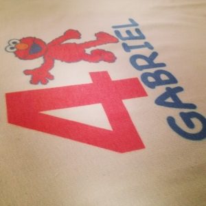 T-shirt Cumpleaños de Gabriel_1